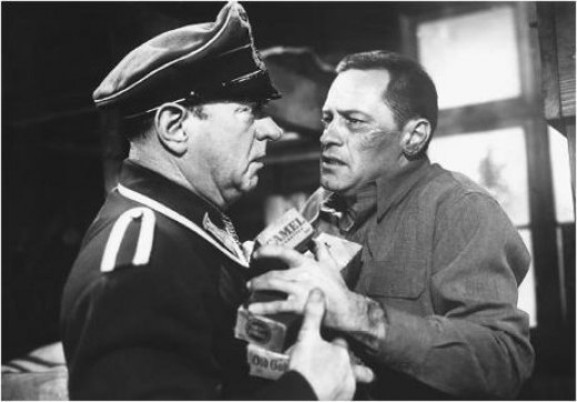 William Holden in his Oscar® winning performance in 1953's Stalag 17