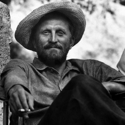 Kirk Douglas as Vincent Van Gogh in 1956's Lust for Life