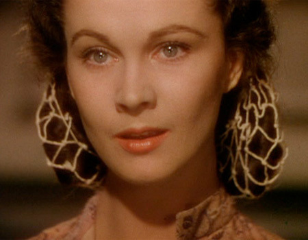 Vivien Leigh in 1939's Gone With The Wind