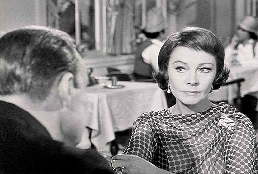 Vivien Leigh in her last movie...1965's Ship of Fools.