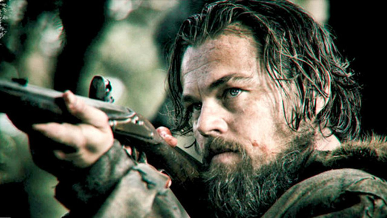 Leonardo DiCaprio's latest movie, The Revenant, is in theaters and on this page.
