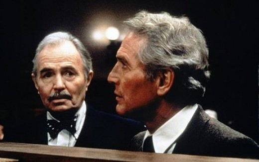 James Mason and Paul Newman in 1982's The Verdict.