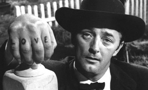Robert Mitchum in 1955's The Night of the Hunter