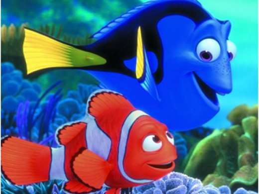 One of the many classic Pixar movies....2003's Finding Nemo.