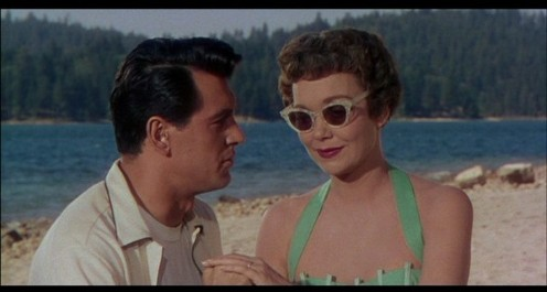 Rock Hudson and Jane Wyman in 1954's Magnificent Obsession