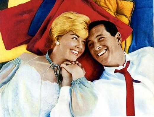 Doris Day and Rock Hudson in 1959's Pillow Talk