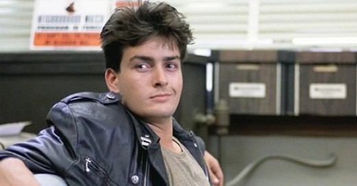 Charlie Sheen in 1986's Ferris Bueller's Day Off