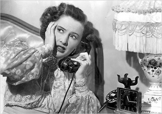 Barbara Stanwyck in 1948's Sorry Wrong Number