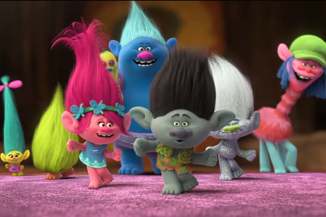 DreamWorks' Trolls has been added to the page.