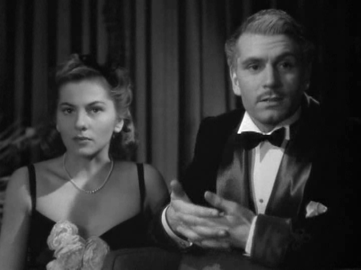 Joan Fontaine and Laurence Olivier in 1940's Rebecca.