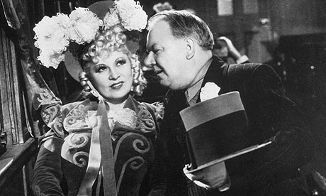 Mae West and W.C. Fields in 1940's My Little Chickadee