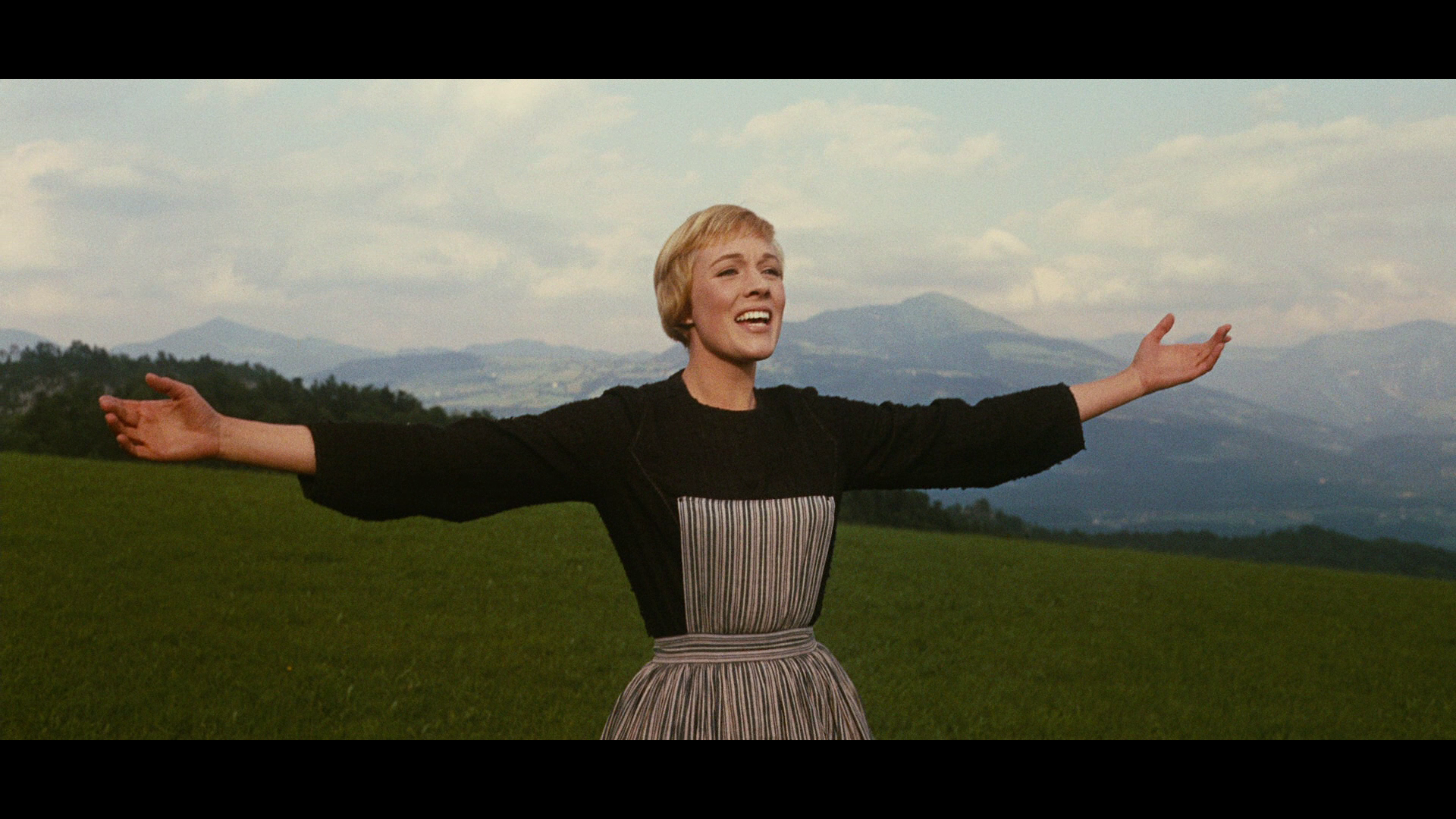 Julie Andrews in 1965's The Sound of Music