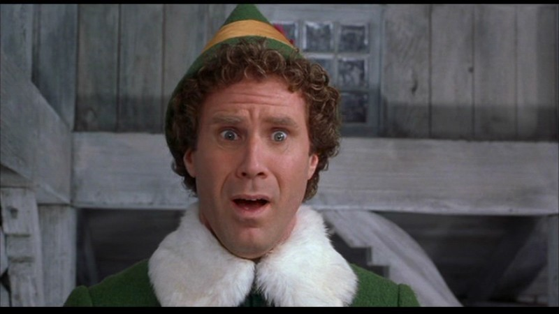 Will Ferrell in 2003's Elf....one of his biggest box office hits