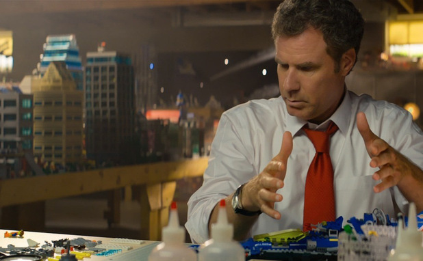 Will Ferrell in 2014's The LEGO movie