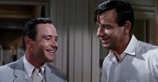 Jack Lemmon and Walter Matthau worked together on 11 movies