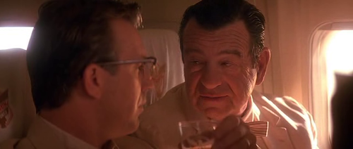 Kevin Costner and Walter Matthau in 1991's JFK