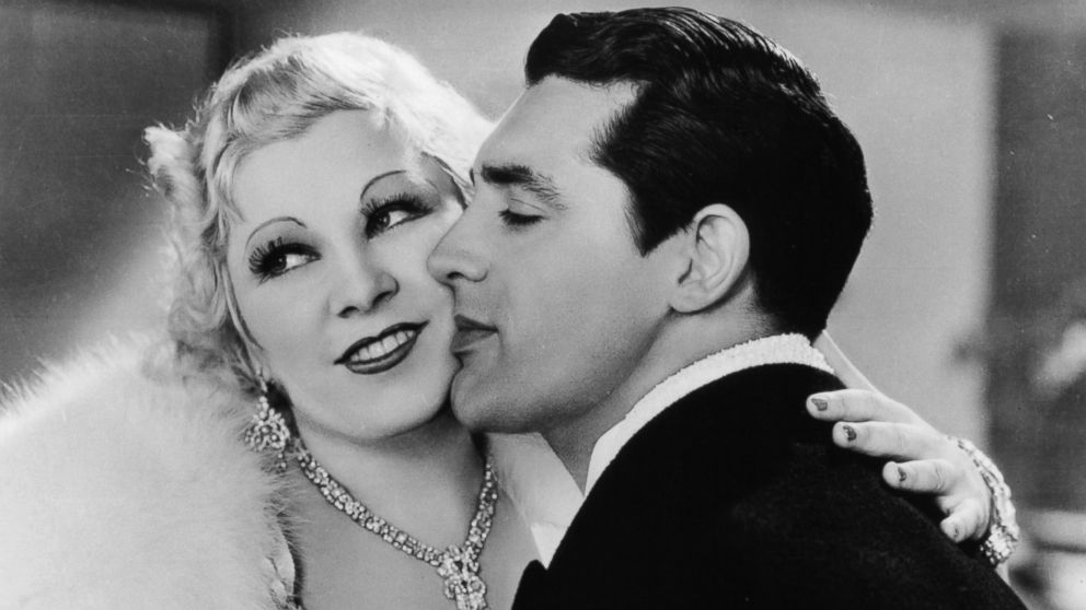 Mae West and Cary Grant in 1933's I'm No Angel