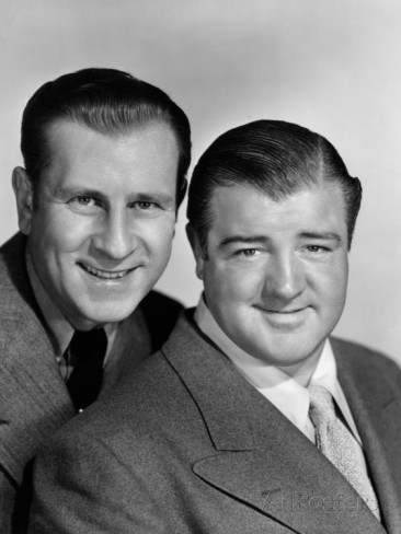 Bud Abbott and Lou Costello made 36 movies from 1940 to 1956