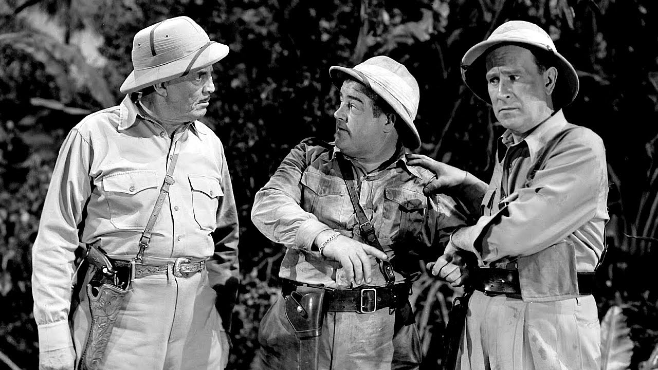 Abbott and Costello in 1948's Africa Screams