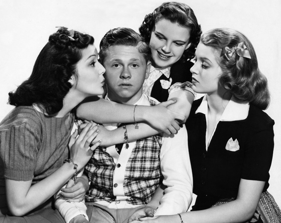 Mickey Rooney played Andy Hardy in 16 movies