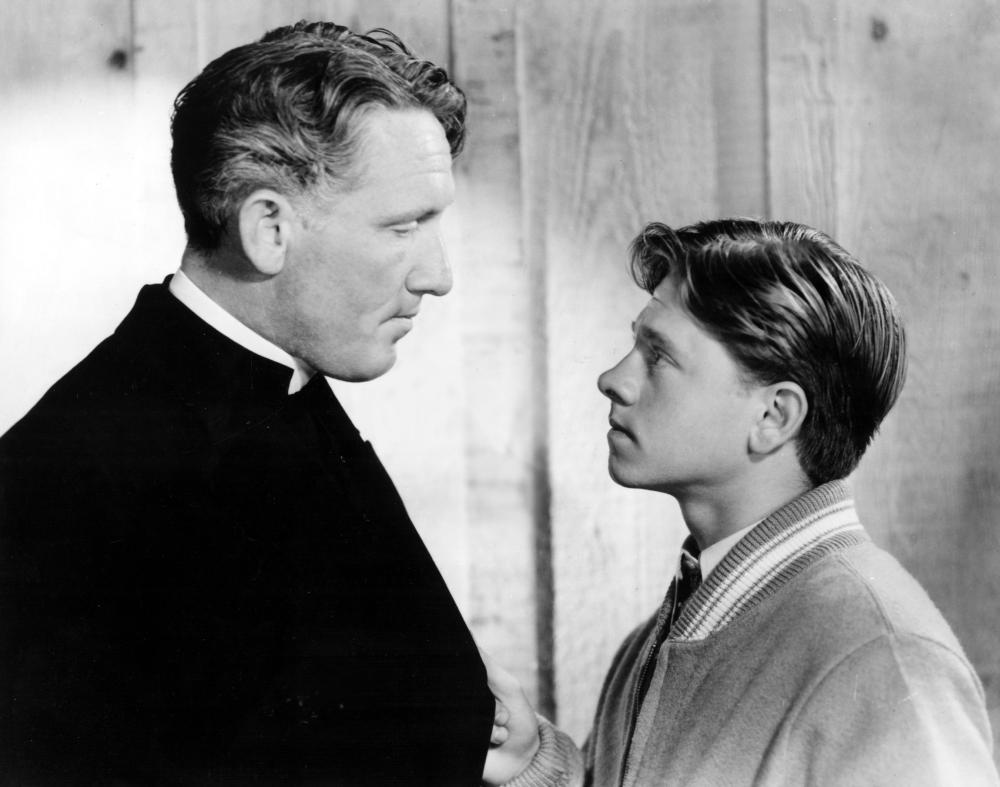 Mickey Rooney helped Spencer Tracy get both of his Best Actor Oscars...Mickey was in both Boys Town and Captains Courageous.