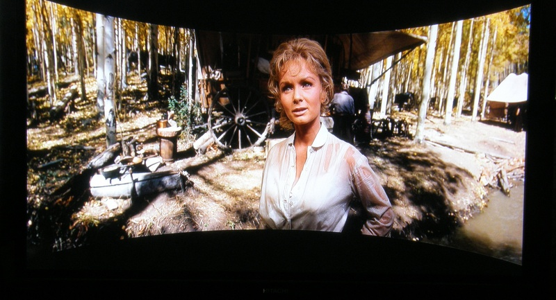 Debbie Reynolds in 1963's How The West Was Won....the blu-ray is one to own...visually stunning