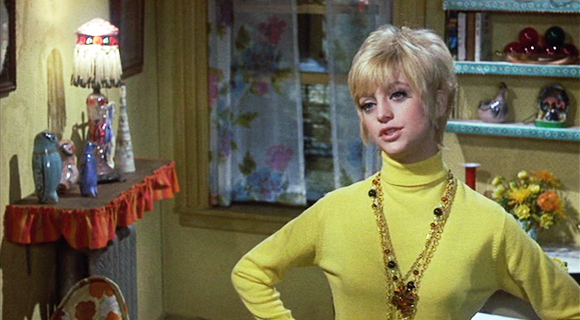 Goldie Hawn won an Oscar for her 2nd movie....1969's Cactus Flower