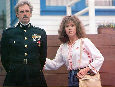 Bruce Dern and Jane Fonda in 1978's Coming Home.
