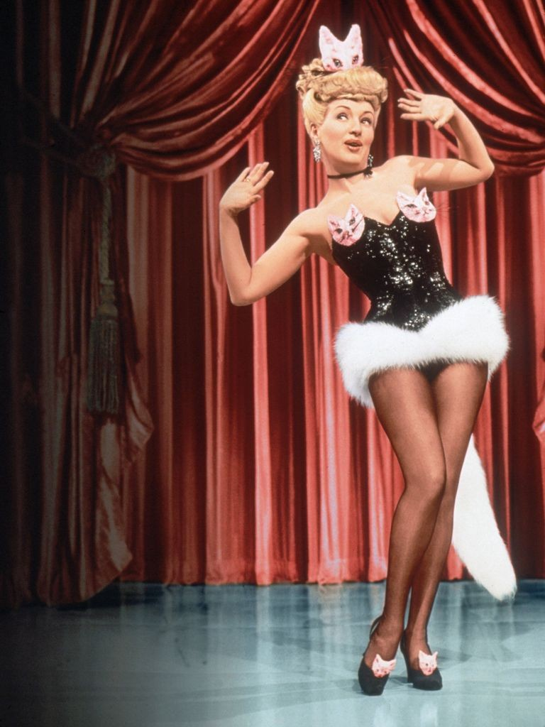 Betty Grable in one of her biggest hits...1947's Mother Wore Tights