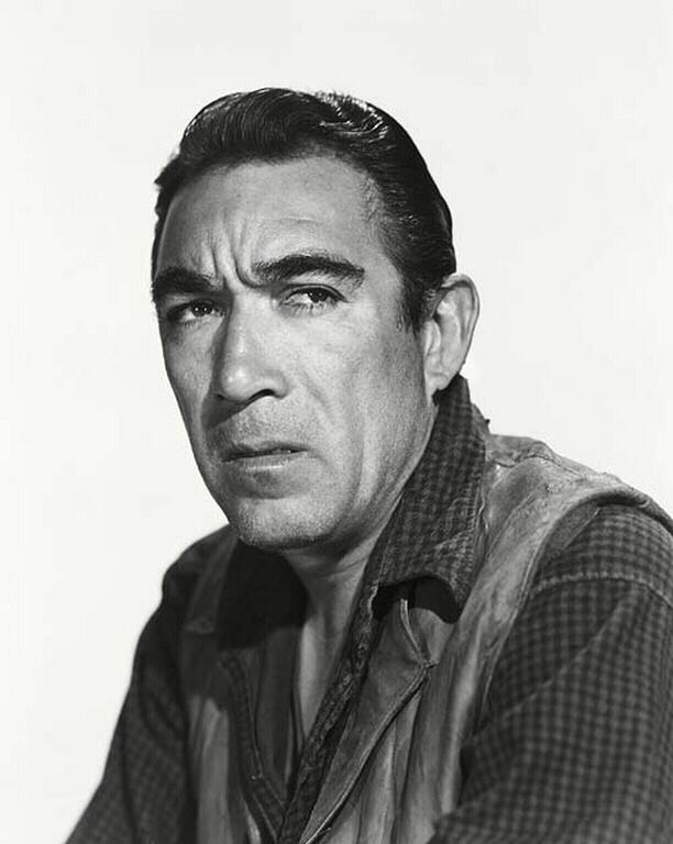 Anthony Quinn appeared in movies for 66 years.....from 1936 to 2002.