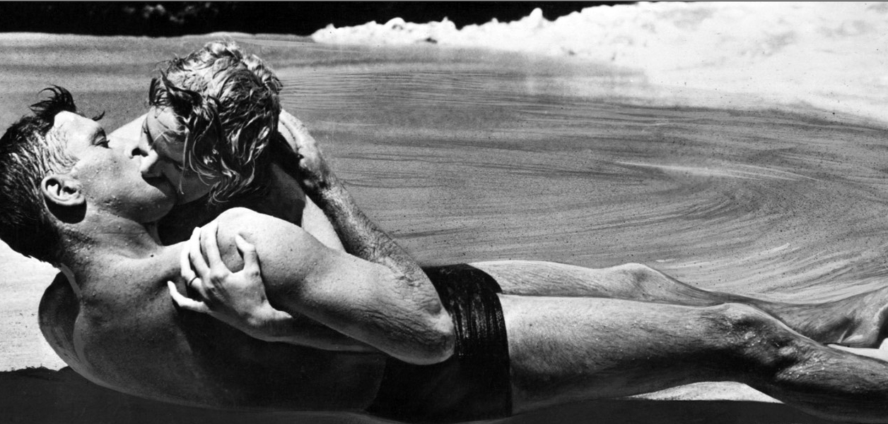 Fred Zinnemann directed one of the most famous scenes in the history of movies...Burt Lancaster and Deborah kissing on the beach in 1953's From Here To Eternity
