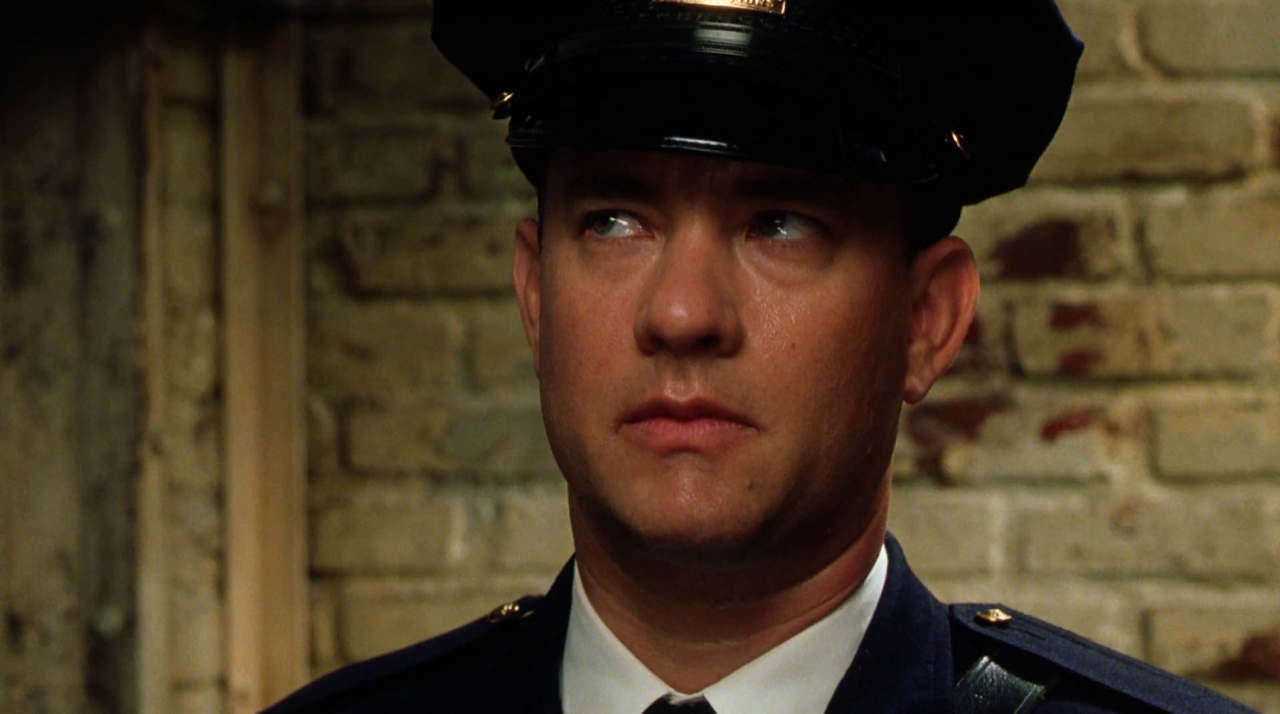 Tom Hanks in 1999's The Green Mile
