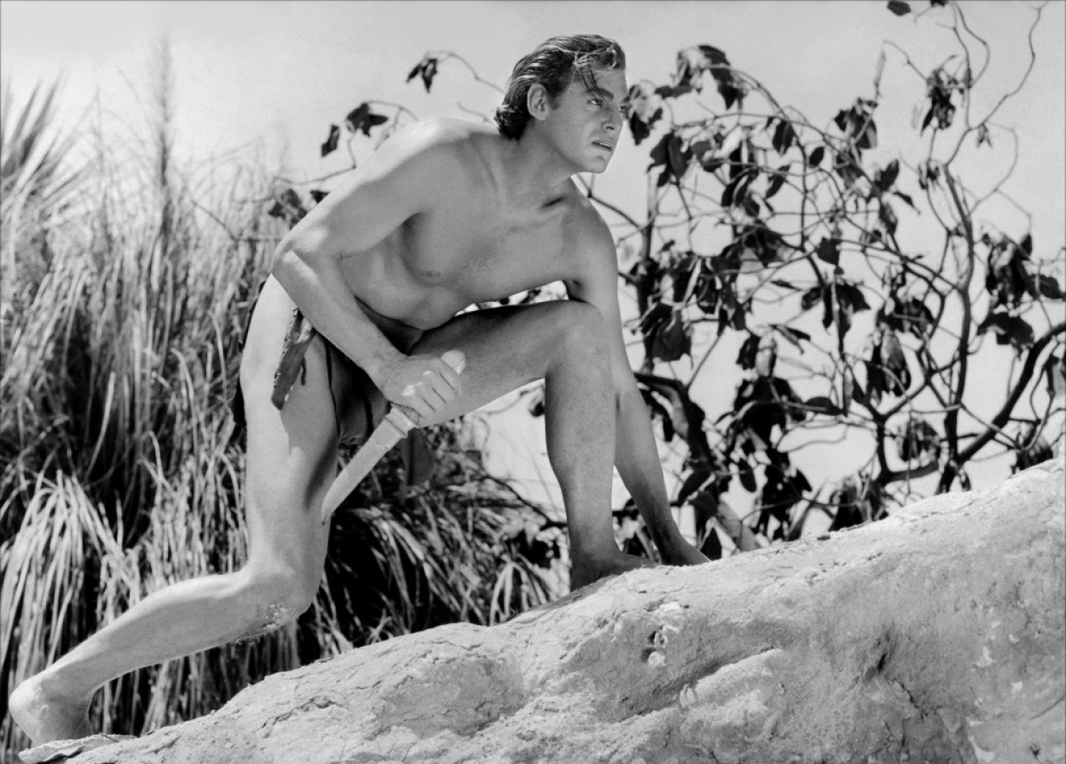 Johnny Weissmuller played Tarzan 12 times