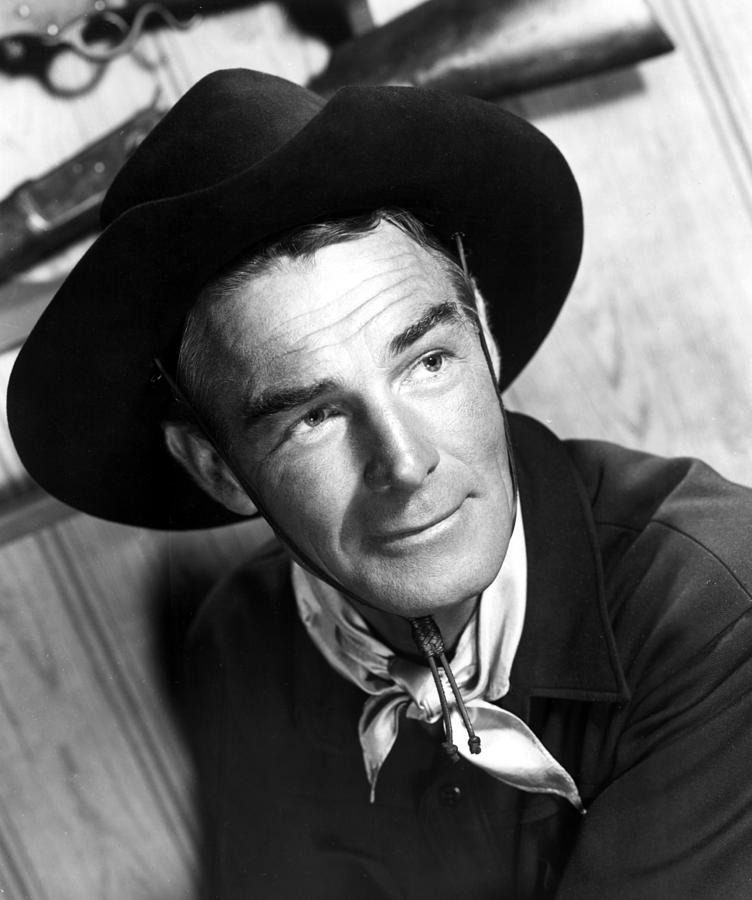 Randolph Scott...one of the great movie cowboys of all-time