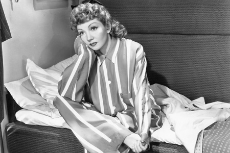 Claudette Colbert in 1942's The Palm Beach Story