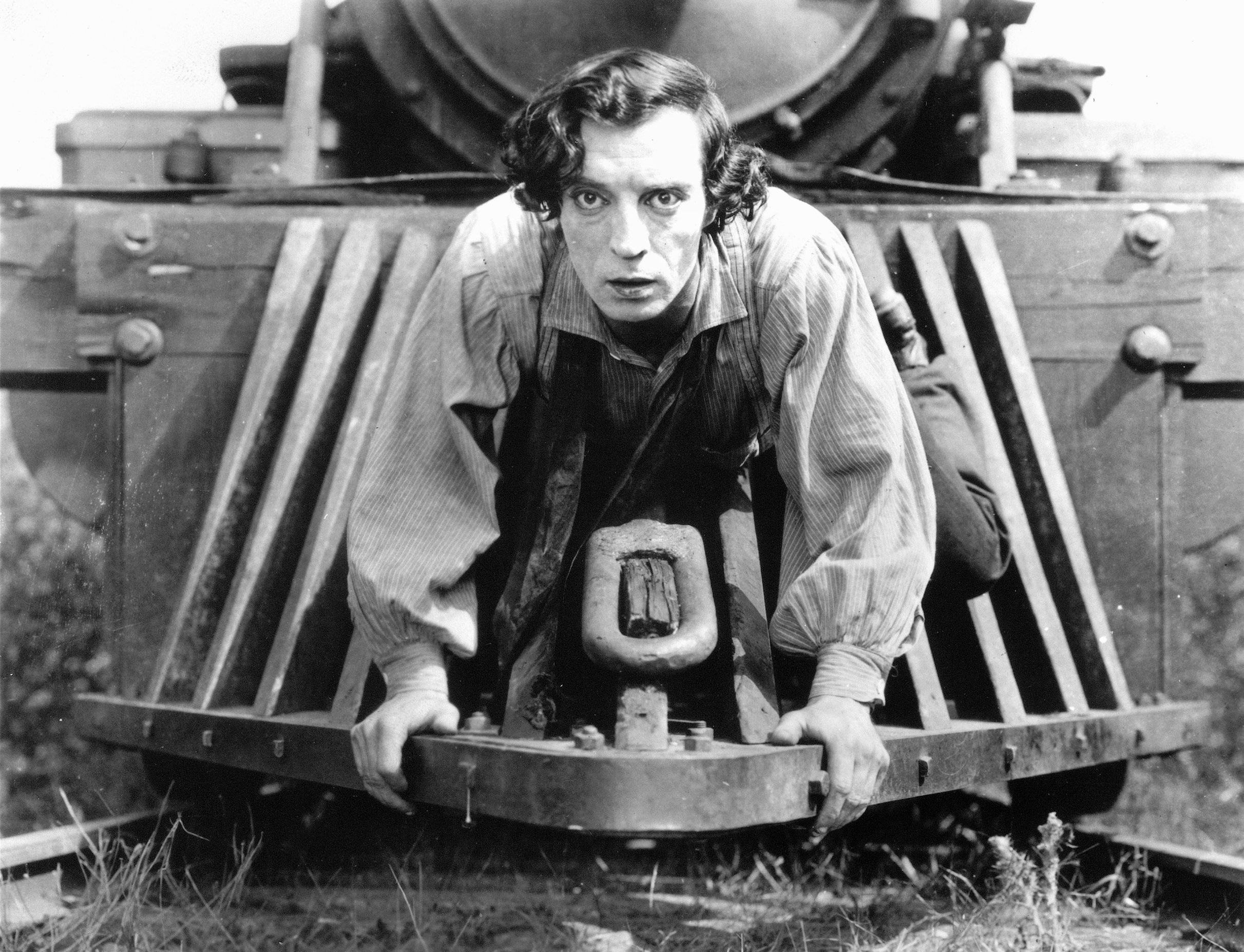 Buster Keaton in one of his most famous roles....1926's The General