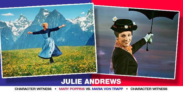 Julie Andrews has 3 of the best reviewed musicals in the Top 30