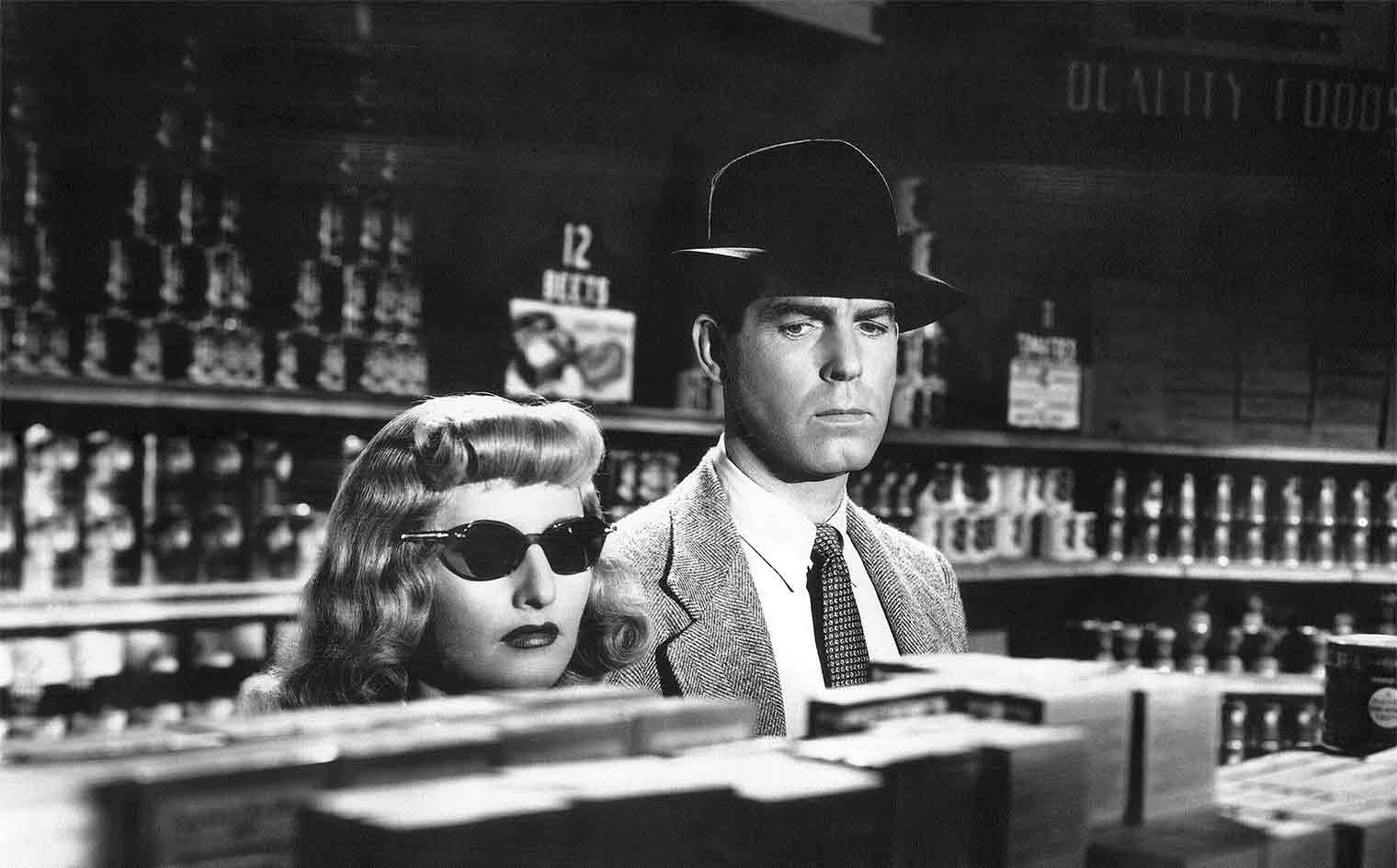 Double Indemnity is the best reviewed film noir movie on our page.