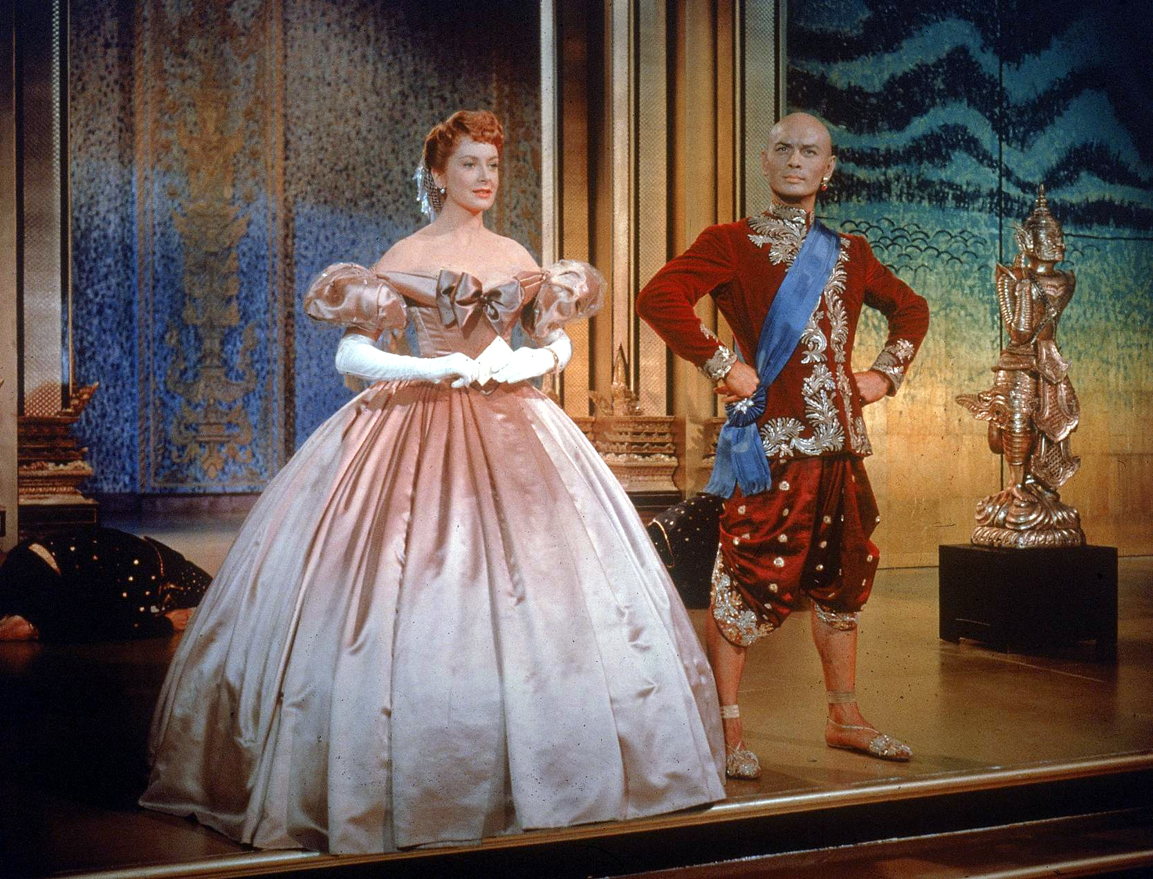 Deborah Kerr and Yul Brynner in 1956's The King And I