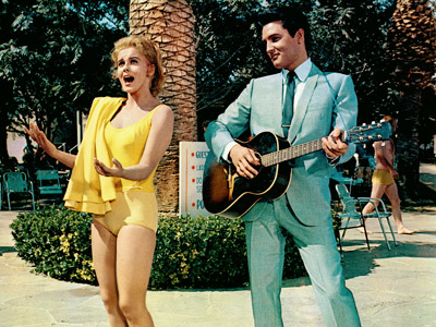 Ann-Margret and Elvis in 1964's Viva Las Vegas