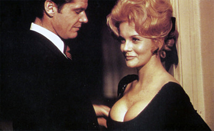 Jack Nicholson & Ann-Margret in 1971's Carnal Knowledge