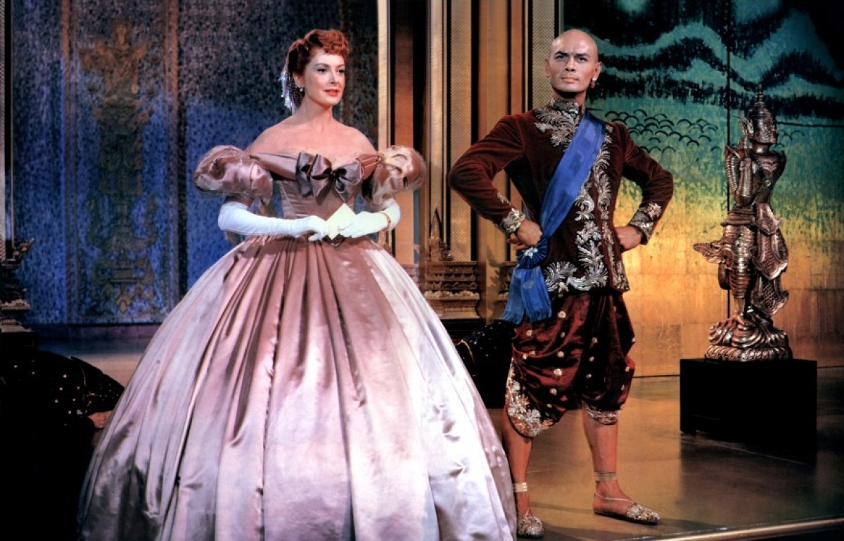 Deborah Kerr & Yul Brynner in 1956's The King And I