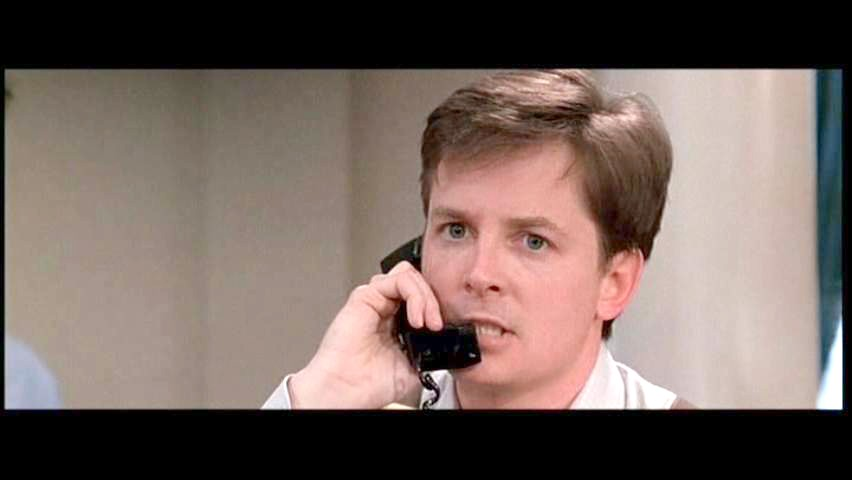 Michael J. Fox in 1995's The American President