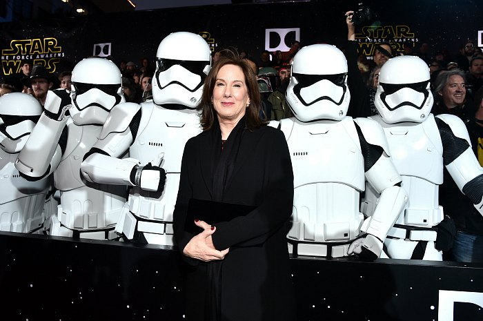 Kathleen Kennedy is the president of Lucasfilm, and the brand manager of the Star Wars franchise