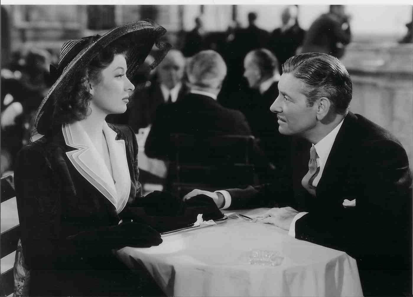 Greer Garson & Ronald Colman in 1942's Random Harvest