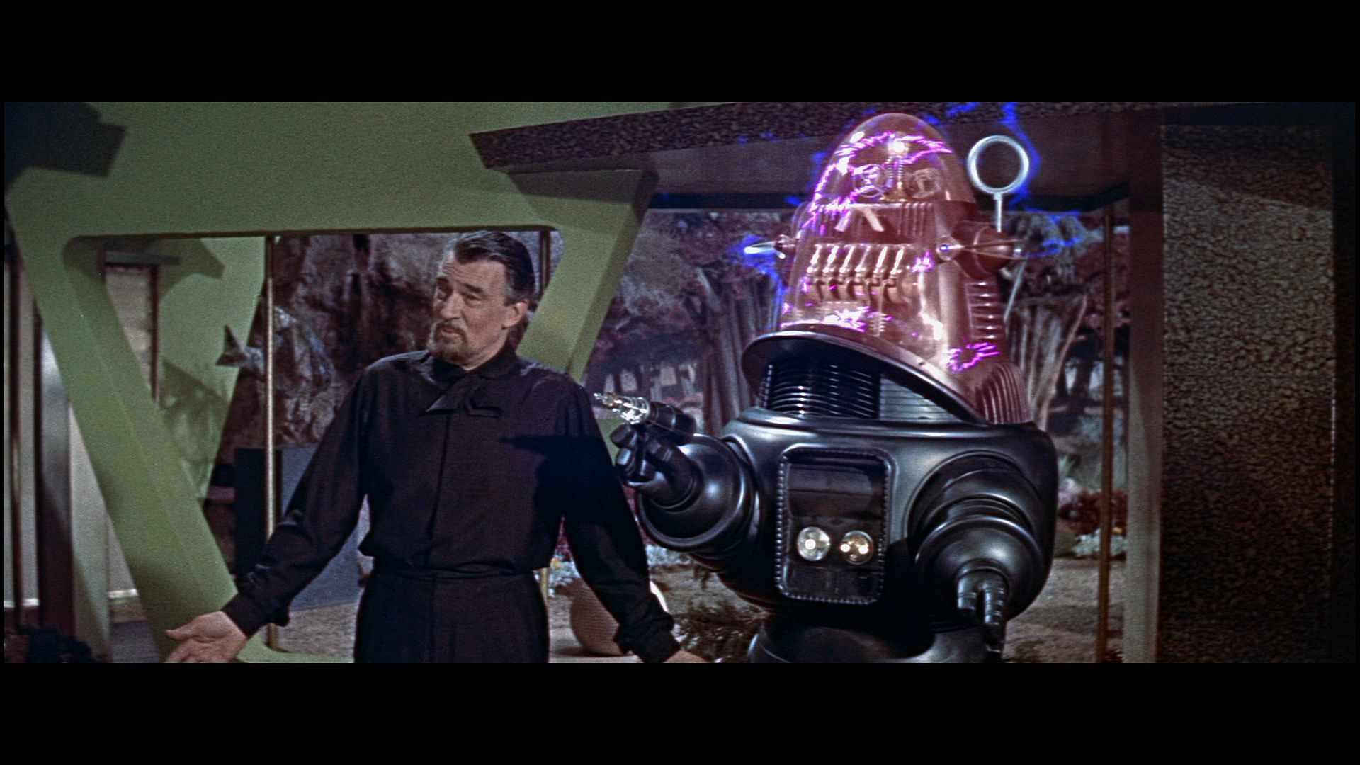 Walter Pidgeon in 1956's Forbidden Planet...maybe having a picture of movie will ease Steve's pain when he looks at rankings.