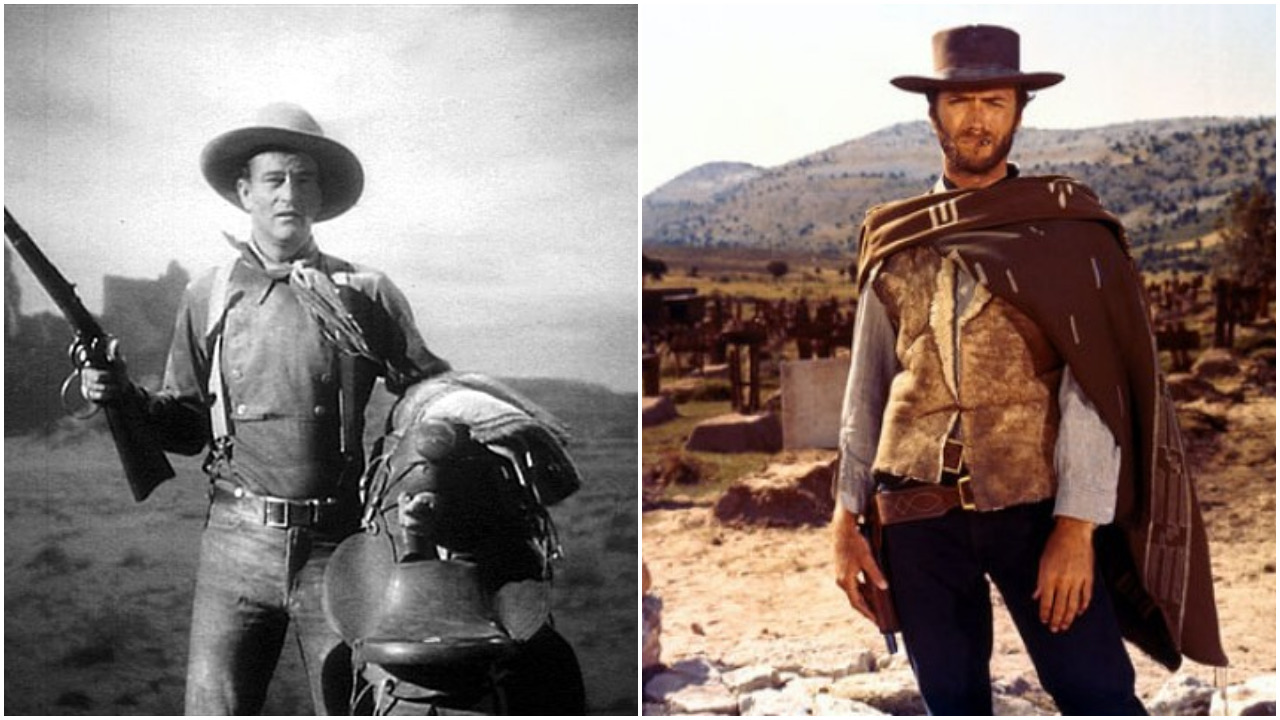 John wayne vs clint eastwood