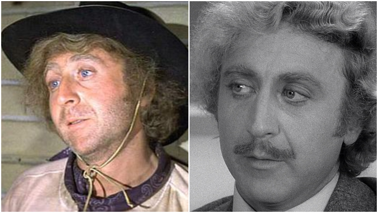 Two of Gene Wilder's biggest hits...Blazing Saddles & Young Frankenstein were released in 1974