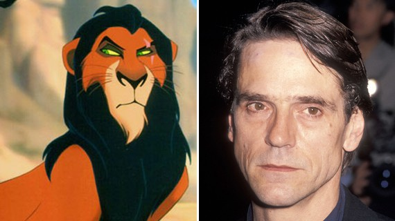 We have seen lists that name Jeremy Irons' Scar character in The Lion King as one of the greatest movie villains of all-time