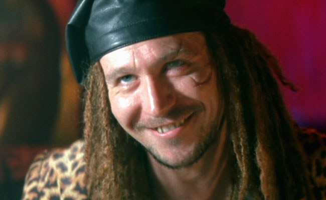 Gary Oldman in 1993's True Romance...a small role...but one of my favorites